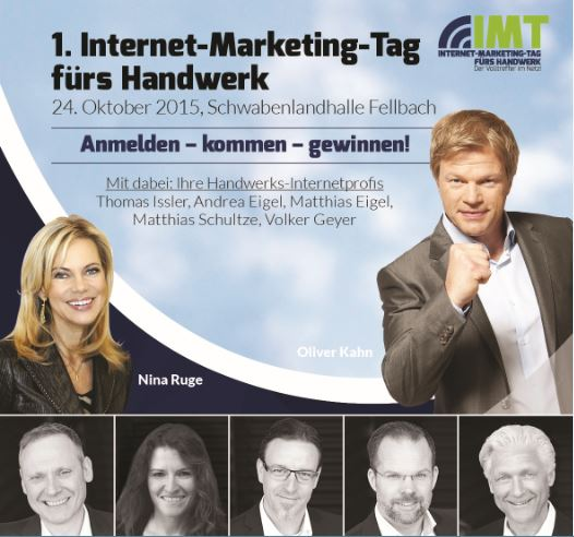 1. Internet-Marketing-Tag für Handwerksbetriebe